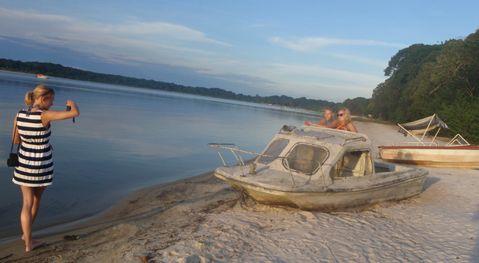 Ssese island beach uganda