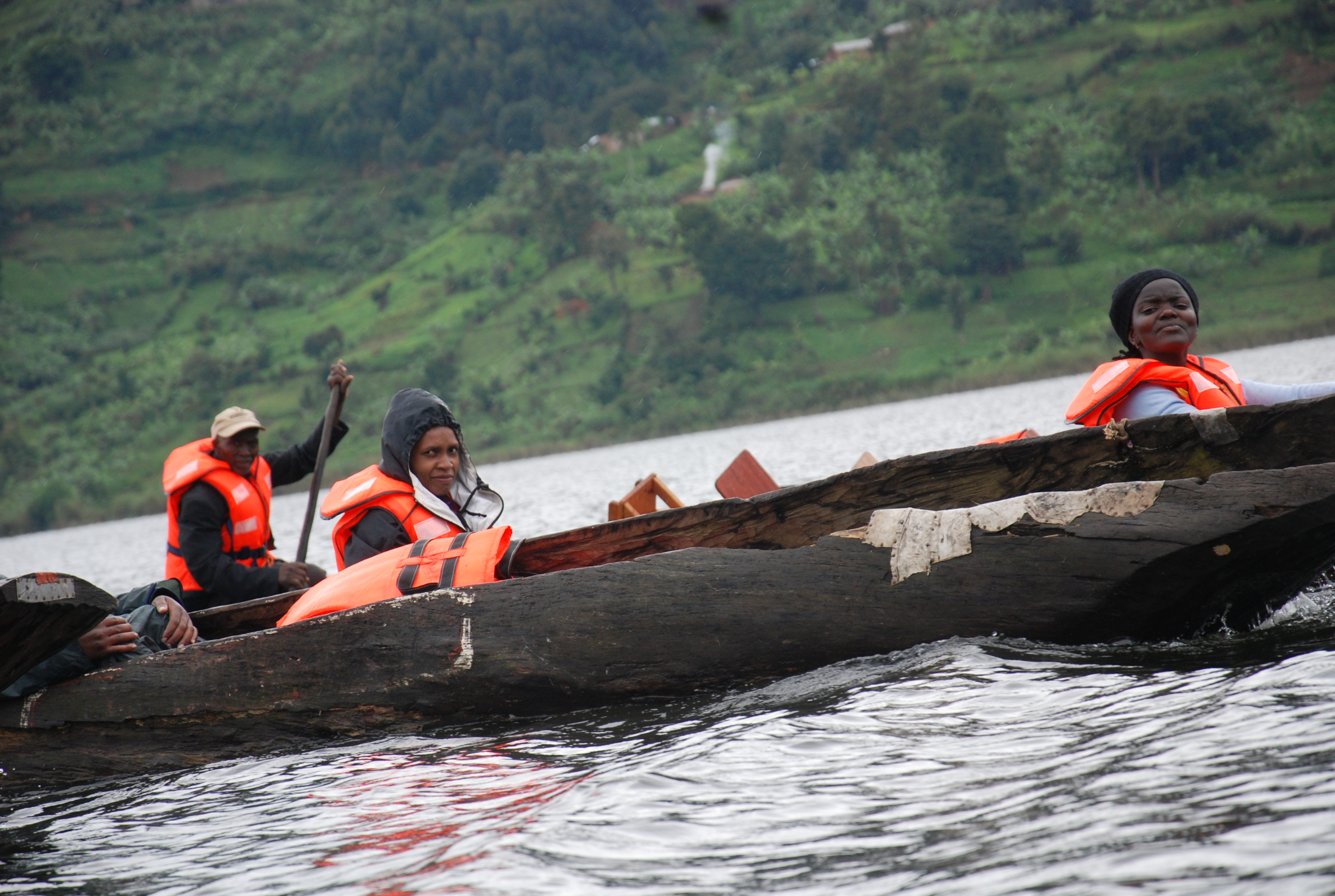 Wildlife Lake Mburo National Park, Bwindi Gorilla Tour, Canoe on Lake Mburo